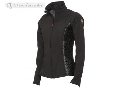 Tattini Faenza Ladies Softshell Jacket With Eco-Leather Inserts