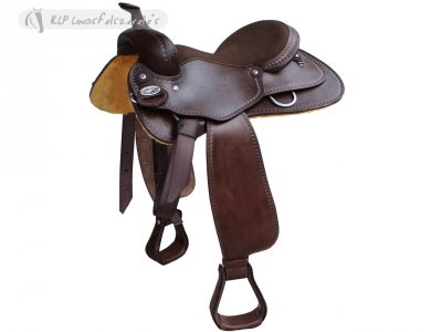 Brad Rens Western Saddle Close Contact 2311