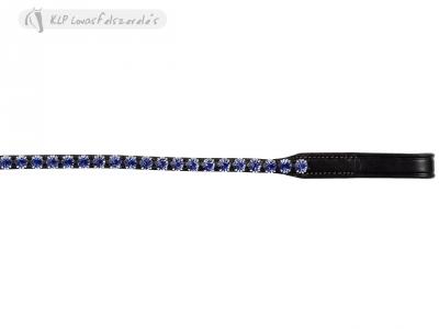 Fruntar Tattini Eco Subțire Cu Ștrasuri Din Pietre Albastre