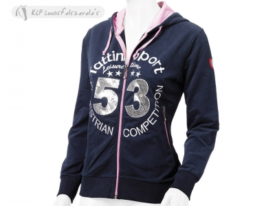 Tattini Ladies Summer Sweatshirt With Hoodie