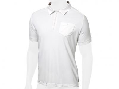 Tattini Mens Zipped Short Sleeved Stock Polo Shirt