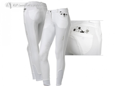 Tattini Ibisco Ladies Breeches With Silicone Knee Patch