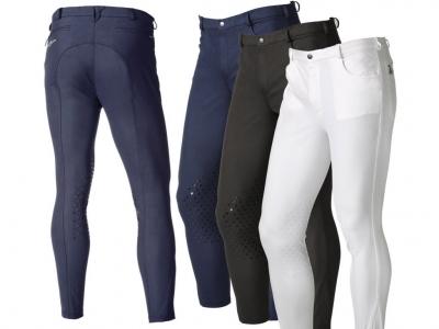 Pantaloni De Echitatie Barbat Zeus Daslo Cu Extra Intaritura De Silicon La Genunchi