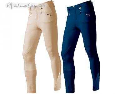 Daslö Men Lightweight Breeches With Self Knee Patch
