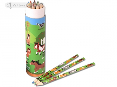 Colored Pencils - Just Horses (12Pcs)