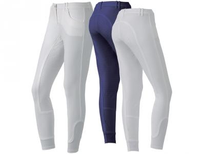 Pantaloni Echitatie Dama Kenzia Tattinic Cu Protectie De Piele Completa Sezut-Picioare Si Silicon