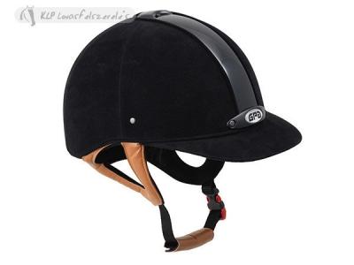 Gpa Classic Velvet 2X Riding Helmet
