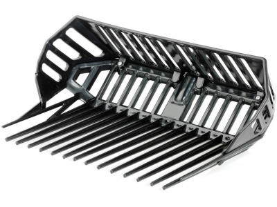 Plastic Fork With Rack In Abs