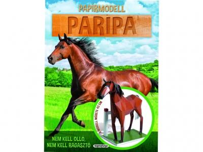 Paper Model - Horse Figure