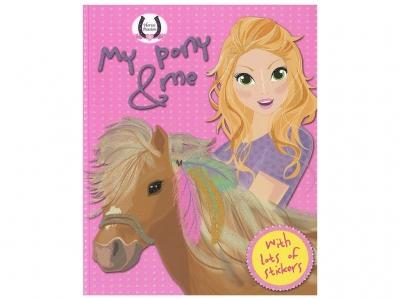 Horses Passion - My Pony And Me (Pink) (Matricás Füzet)