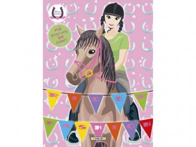 Horses Passion - Rider Fashion 3 (Matricás Füzet)