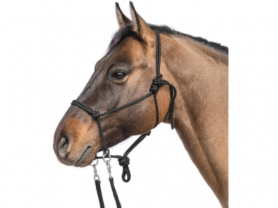 Knotted Halter With Reins