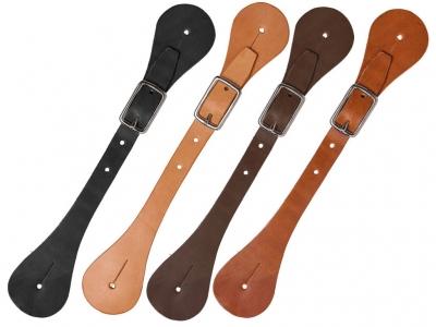 Western Plain Spurs Leather