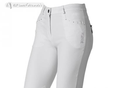 Tattini Microfiber Ladies Breeches Dafne With Suede Knee Patch