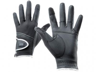 Tattini Gloves With Silver Profile