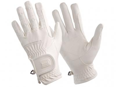 Tattini Gloves Elastic Inserts White