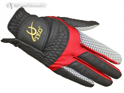Synthetic Leather Race Gloves With Silicone