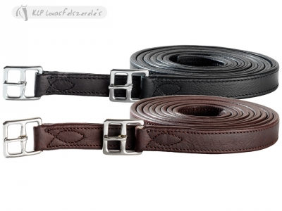 Tattini Stirrup Leathers With Sewn Buckle