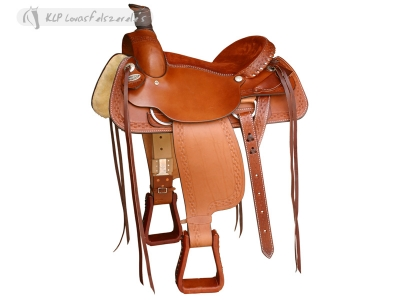 Brad Rens Roper Saddle No. 2034.