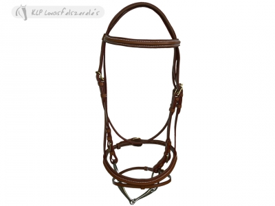 Daslö Headstall Padded Stainless Steel