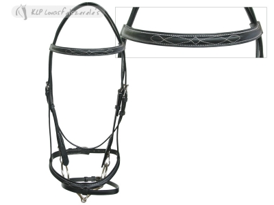 Daslö Headstall Fancy Stainless Steel