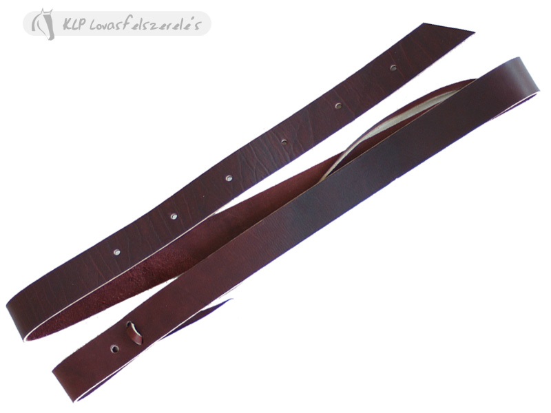 Latigo Leather Tie Strap