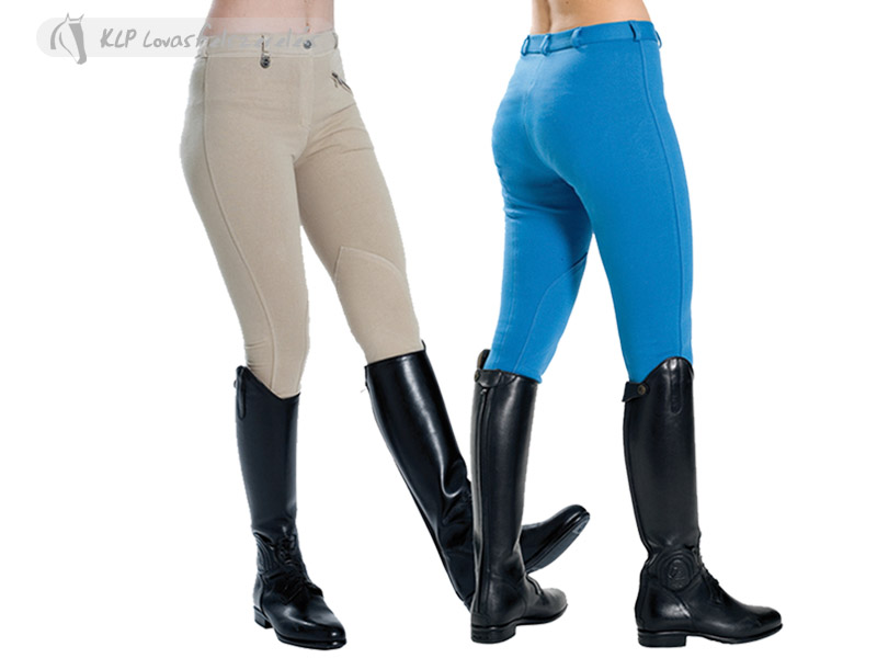 Daslö Ladies Breeches Colour With Self Knee Patch