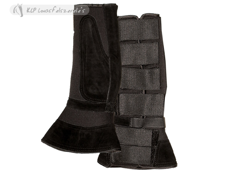 Combination Of Horse Boots With Bell Boot