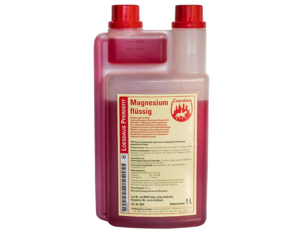 Loesdaus Pferdefit Liquid Magnesium