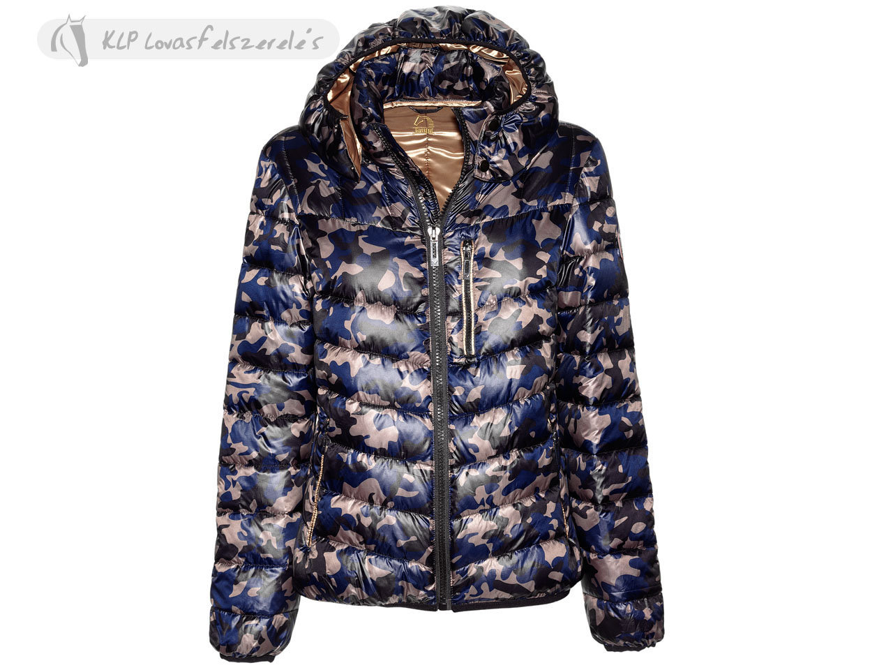 Tattini Unisex Grosseto Camouflage Down Jacket