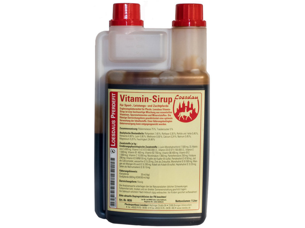 Vitamin Syrup (1 Liter)