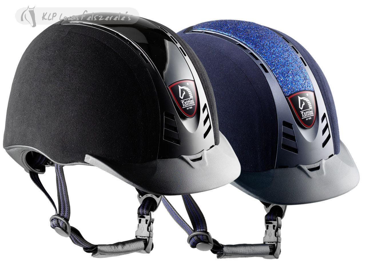Tattini Microfiber Riding Cap With Exchangeable Plate
