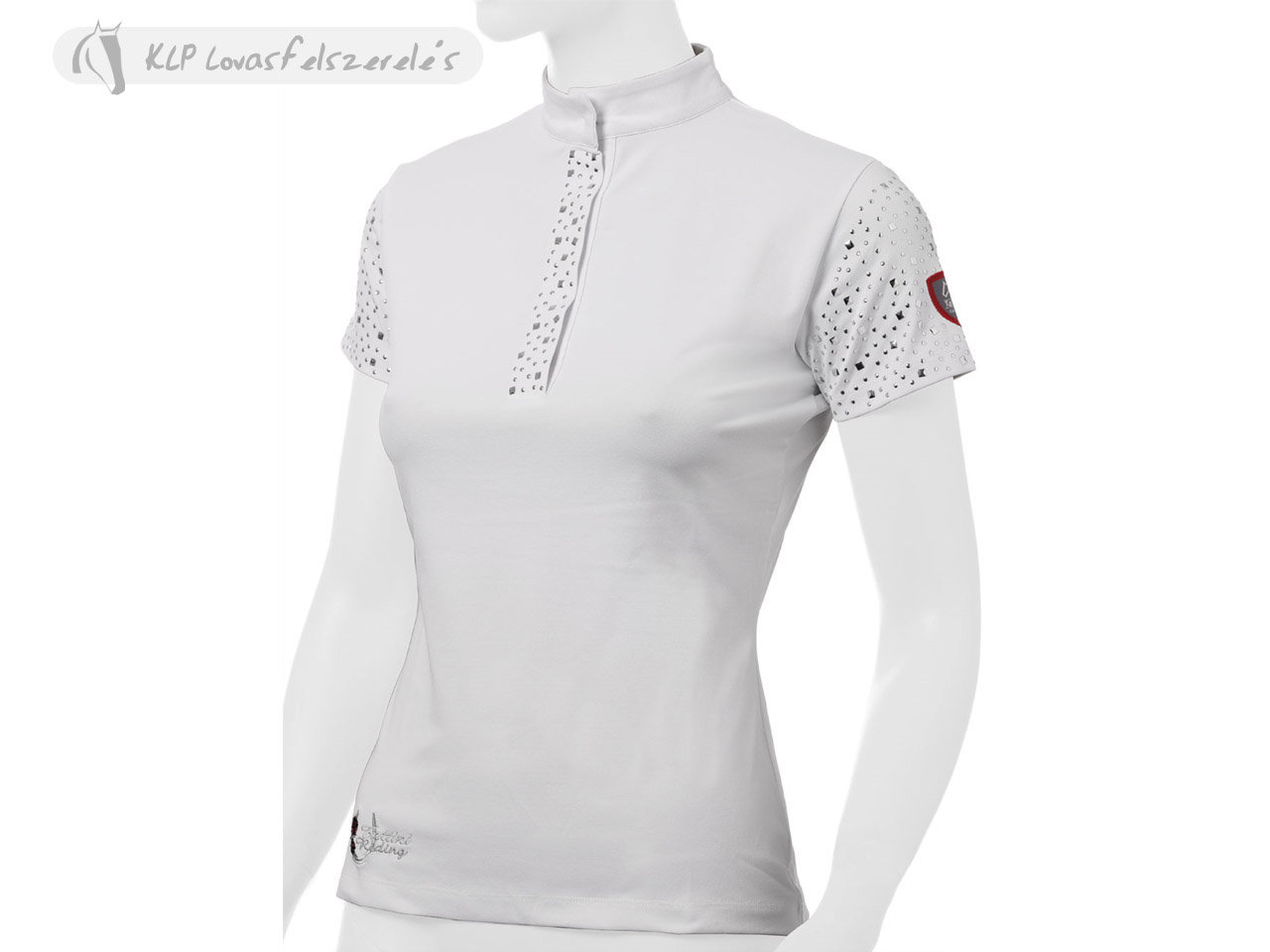 Tattini Ladies Short Sleeved Stock Shirt With Studs