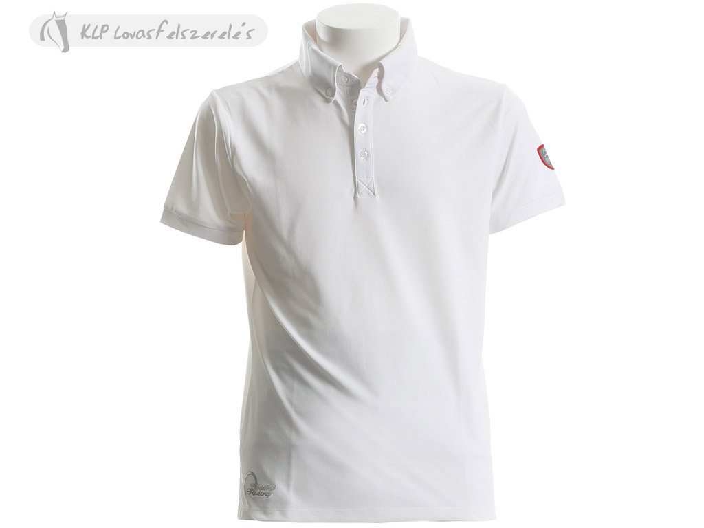 Tattini Mens Short Sleeved Button Down Stock Polo Shirt