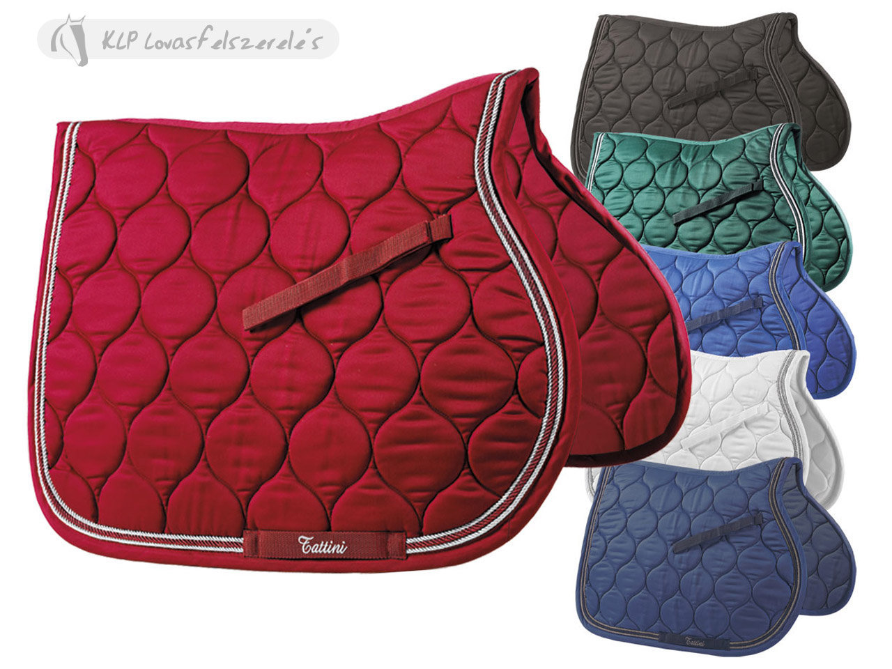 Tattini Saddle Pad With Triple Rope