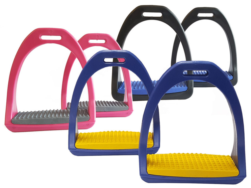 Plastic Stirrups In Color