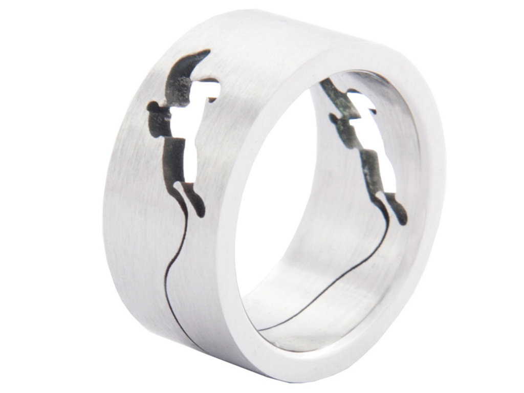 Ring With Jumping Horse