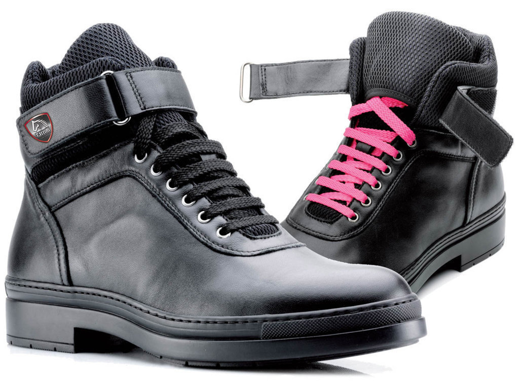 Tattini Pit Bull High Riding Sneakers With Laces