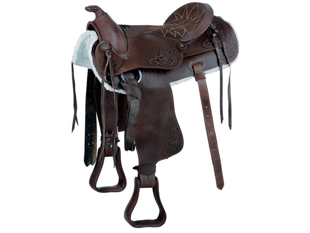 Natowa Pony Western Saddle Nr 115 Oiled Leather