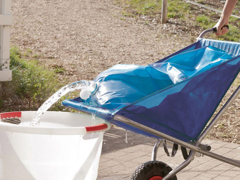 Kerbl Water Transport Bag For Collapsible Barrow