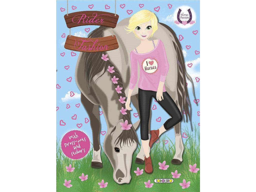Horses Passion - Rider Fashion 4 (Matricás Füzet)