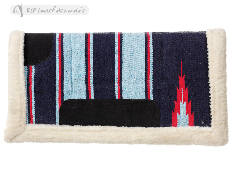 Western Saddle Pad With Synthetic Fur