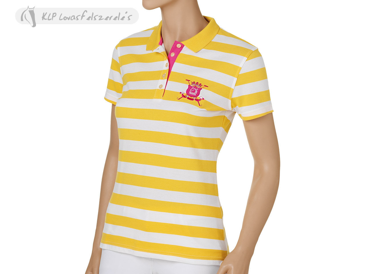 Tattini Ladies Striped Polo