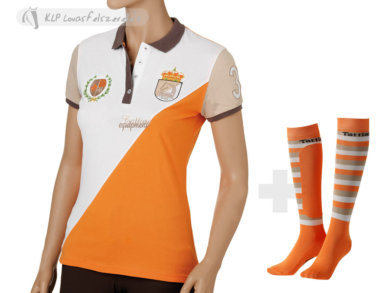 Ladies  Polo Design Socks.