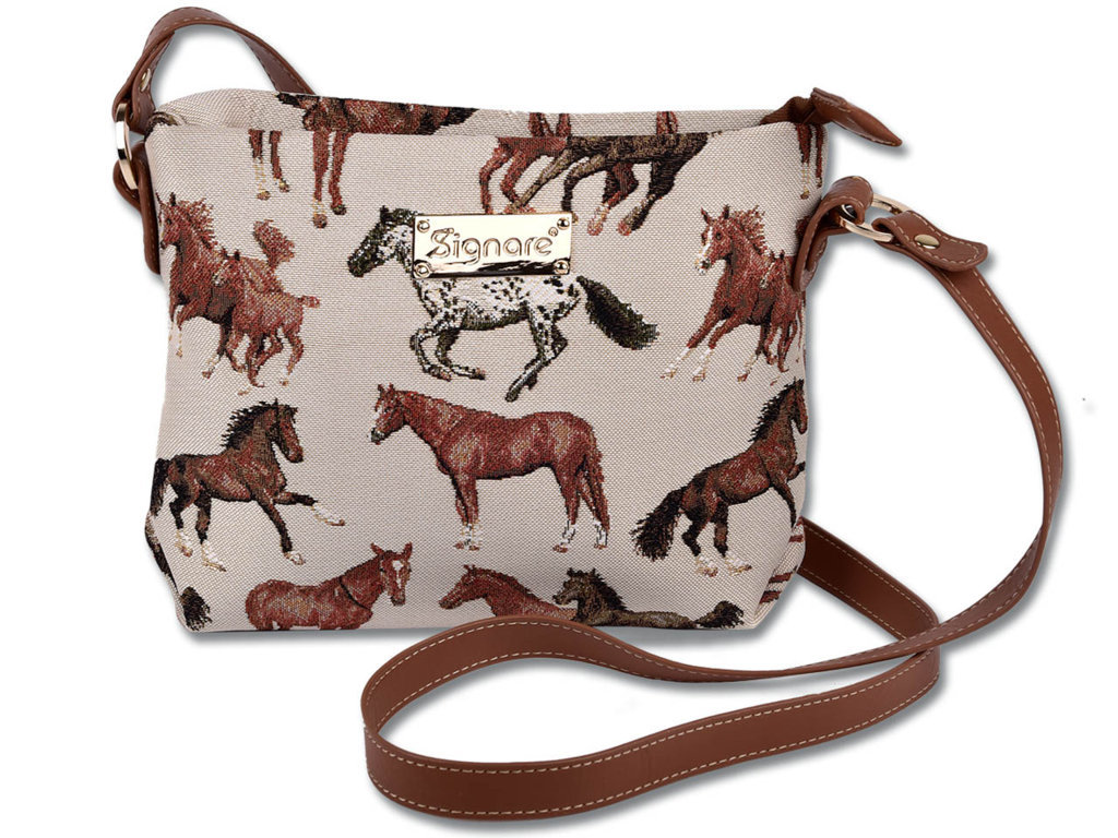 Shoulder Bag - Horses