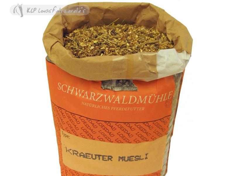 Táp Müzli Gyógynövényes Schwarzwaldmühle (10Kg)