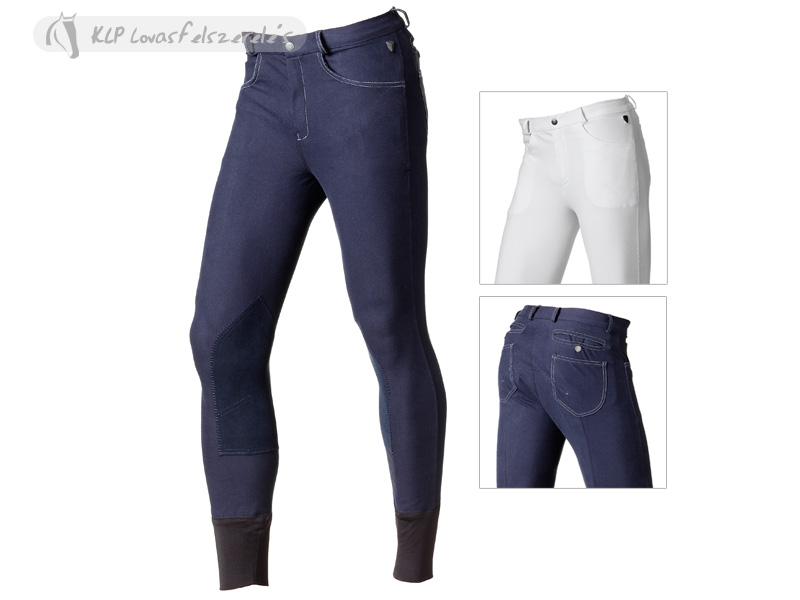 Pantaloni Echitatie Copii Giunco Tattini Cu Intaritura De Piele La Genunchi