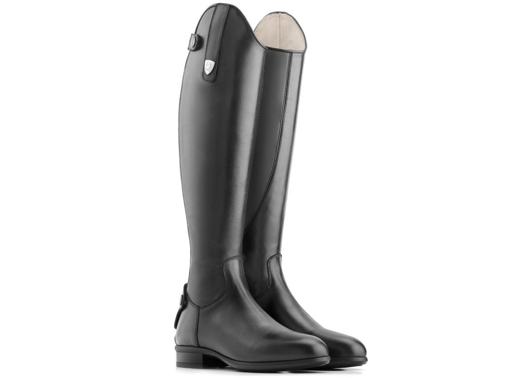 Tattini Terrier Close Contact Laced Long Riding Tall Boots
