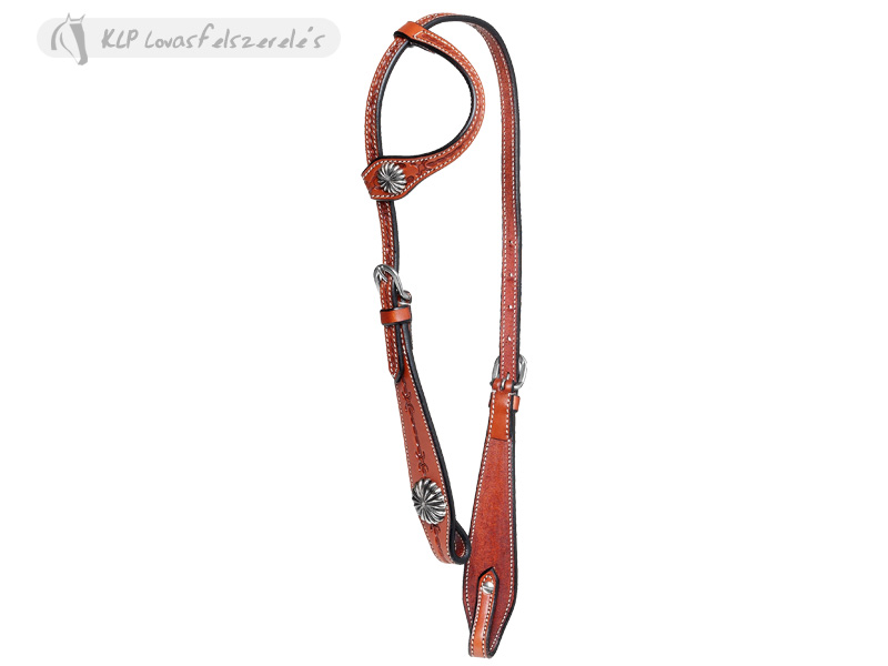 Brad Rens One Ear Headstall Barb Wire+Reins Cm 245