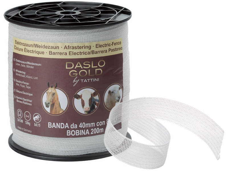 Electric Fence Polytape 40Mm, 8Wires